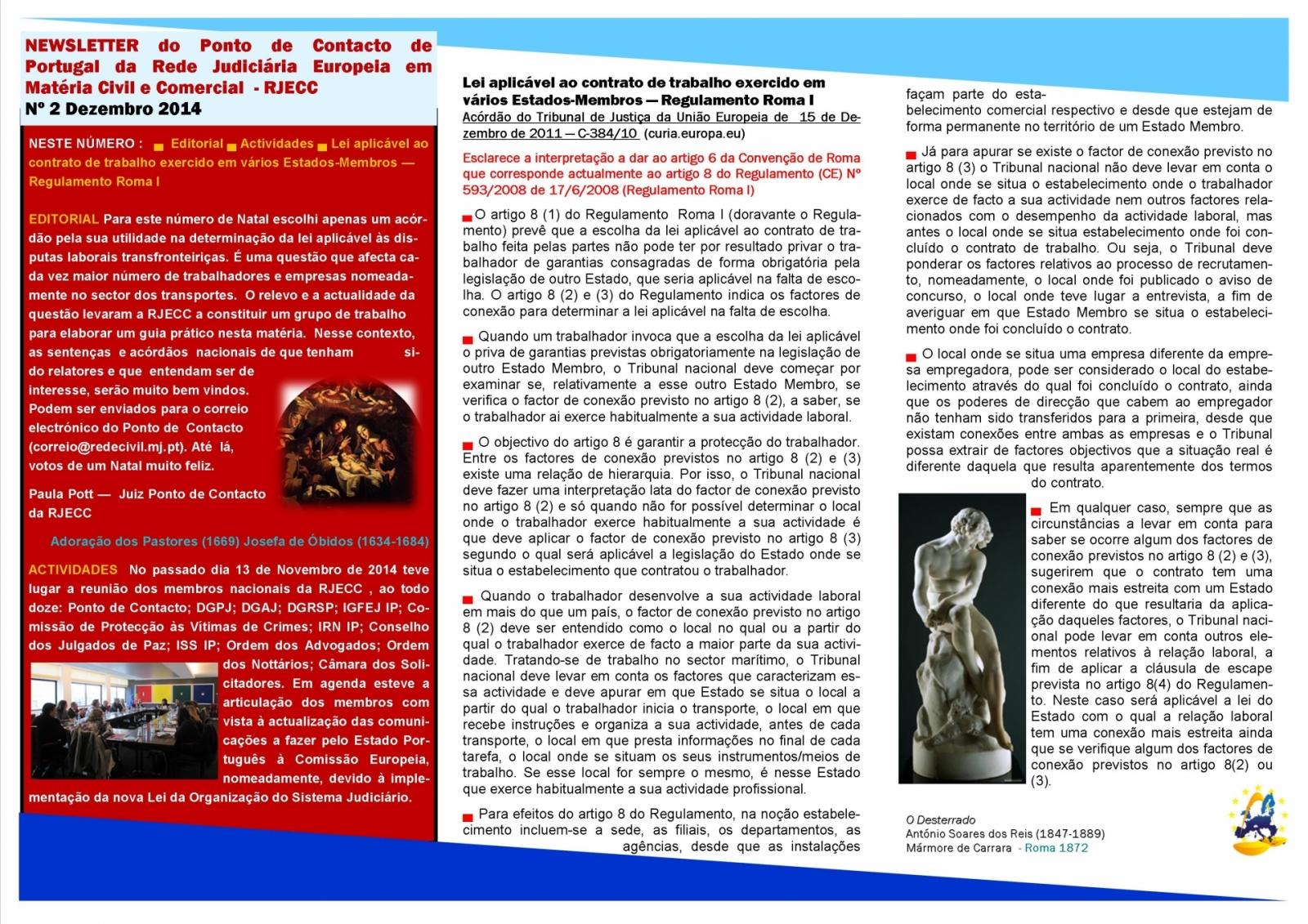 Newsletter - Novembro de 2014