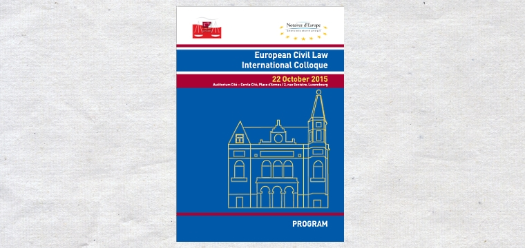 Colóquio Internacional de Direito Civil Europeu