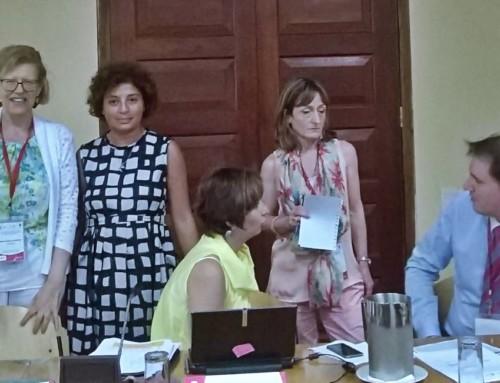 Primeira Reunião sobre cobrança de alimentos transfronteiras (IberRed)