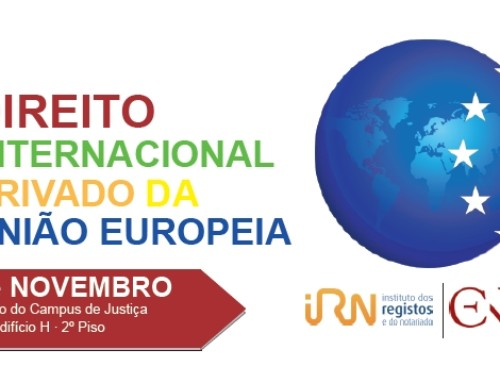 Workshop sobre Direito Internacional Privado da União Europeia