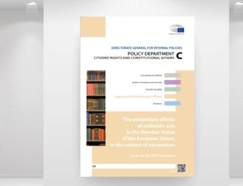 Sucessões na UE: a força probatória dos documentos autênticos