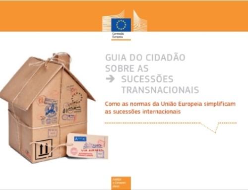 Guia do cidadão sobre as sucessões transnacionais