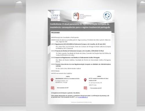 Conferência sobre a regulamentação europeia da insolvência