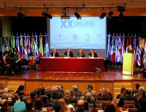 Primeira Ronda de trabalhos da XX Cumbre Judicial Iberoamericana