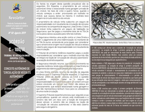 Newsletter 58-Agosto-19