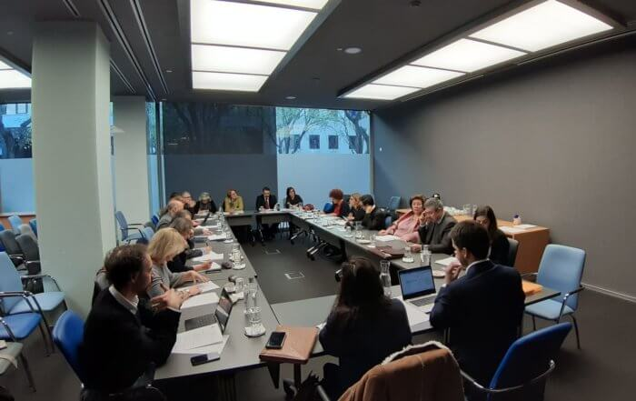 19ª Reunião Trimestral de Membros Nacionais da RJE Civil