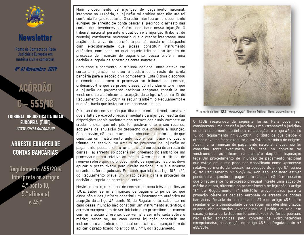 newsletter 61-Novembro -19